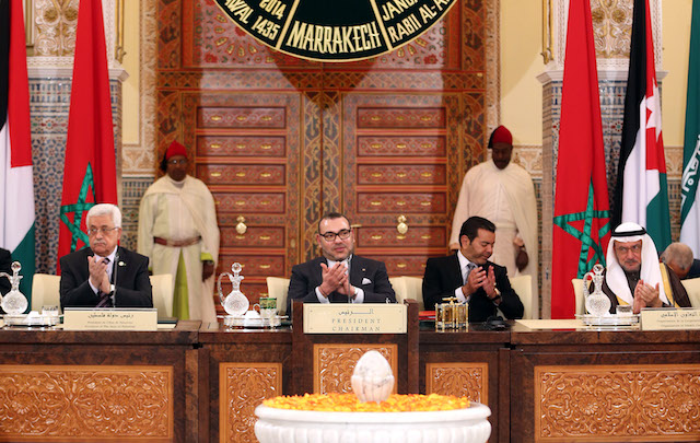 King Mohamed VI at the closing session of the Al Quds Committee